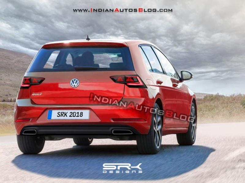8代目となる次期VWゴルフの予想エクステリア画像