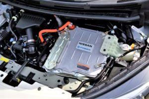 ノートe-POWERのエンジンルーム