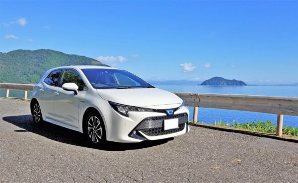 琵琶湖でドライブ