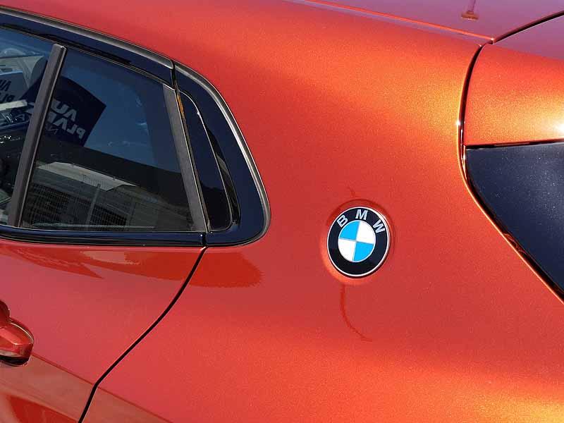 BMWX2のCピラー