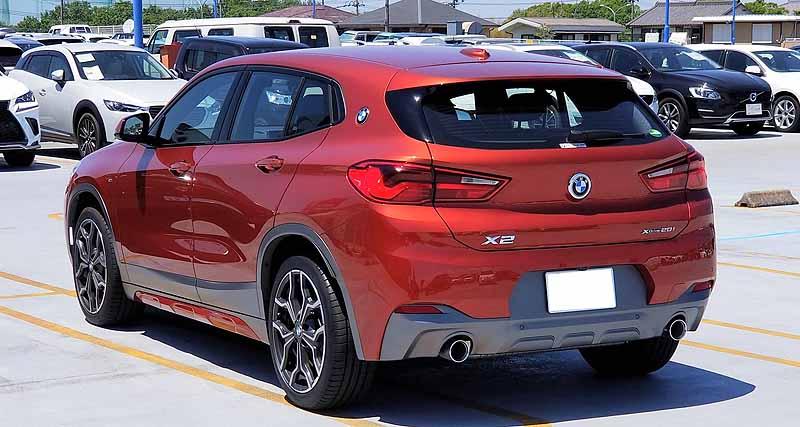 BMWX2のエクステリア