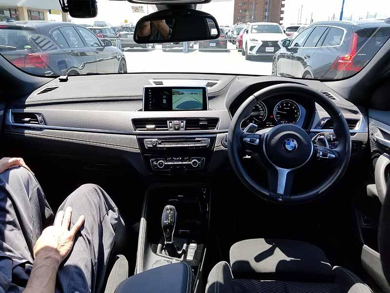 BMWX2のインパネ