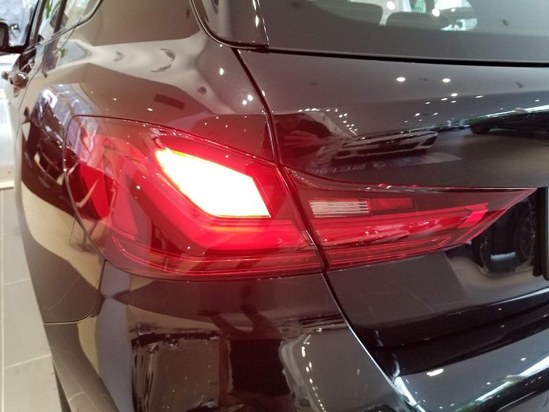 BMW新型1シリーズのテールランプ