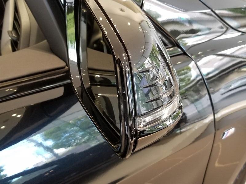 BMW新型1シリーズのサイドミラー