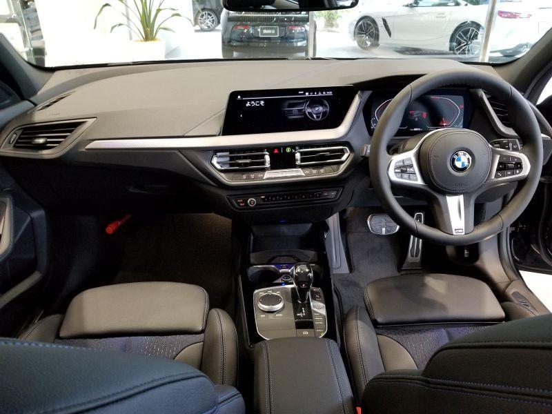 BMW新型1シリーズのインパネ