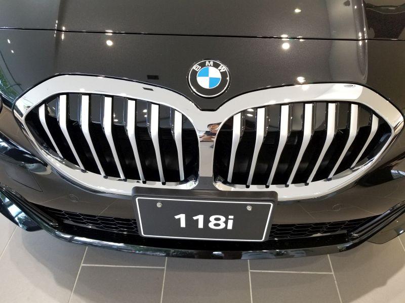BMW新型1シリーズのフロントグリル