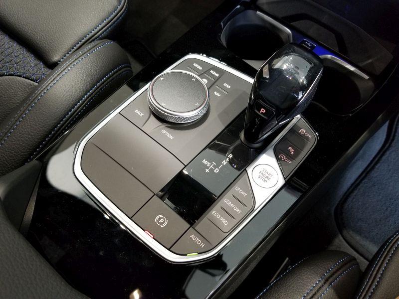 BMW新型1シリーズのセンターコンソール