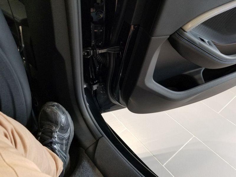 BMW1シリーズの乗降性