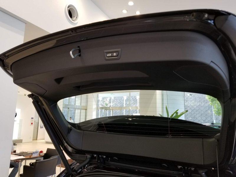 BMW新型1シリーズのテールゲート