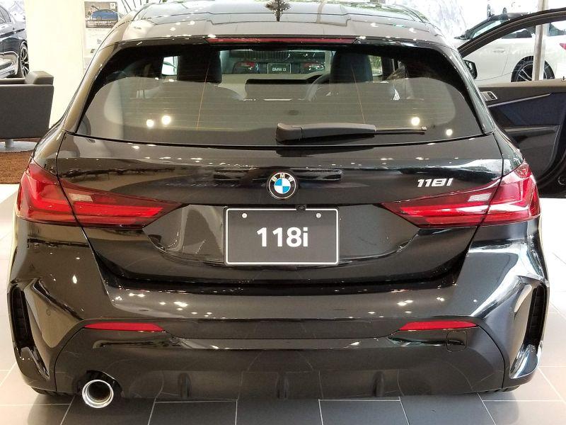 BMW新型1シリーズのエクステリア