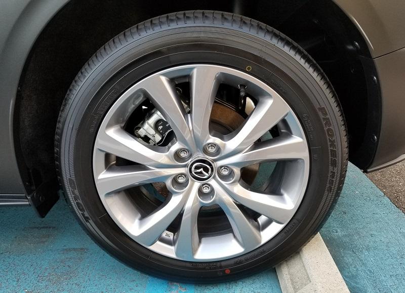 CX-30のタイヤ
