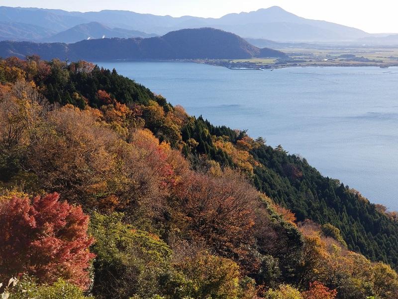 奥琵琶湖パークウエイ