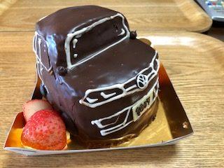 ゴルフのケーキ