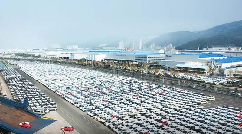現代自動車の工場