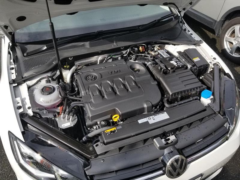 VWゴルフTDIのエンジン