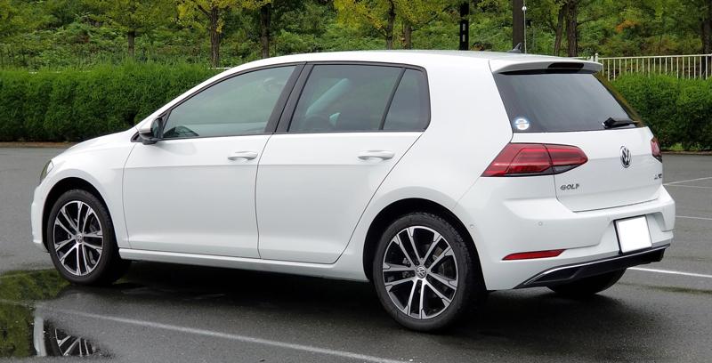 VWゴルフのリアスタイル