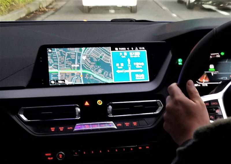 BMWのiDriveナビ