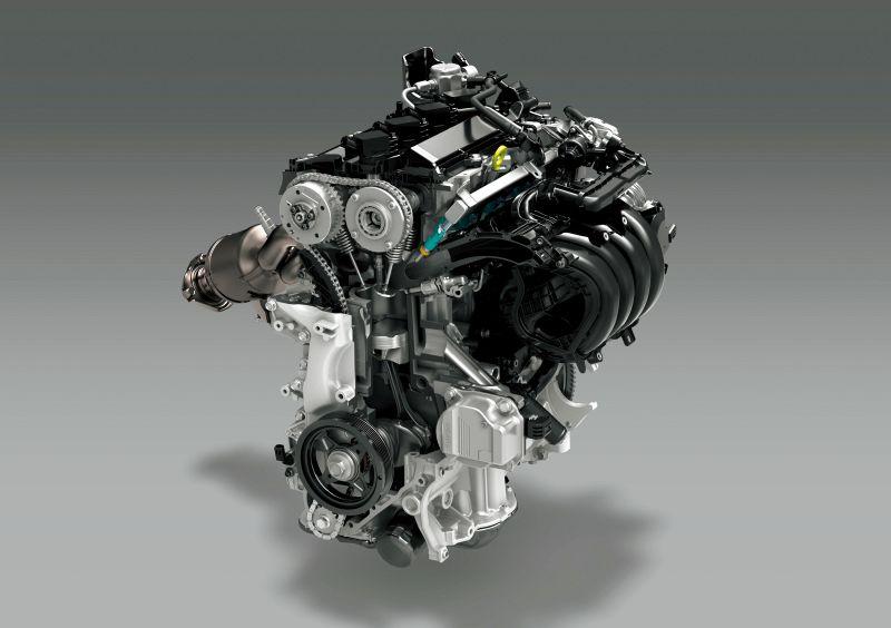 カローラツーリング w×b2000limitedのエンジン