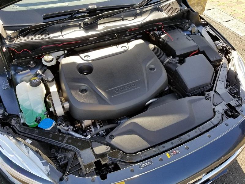 V40D4のエンジン