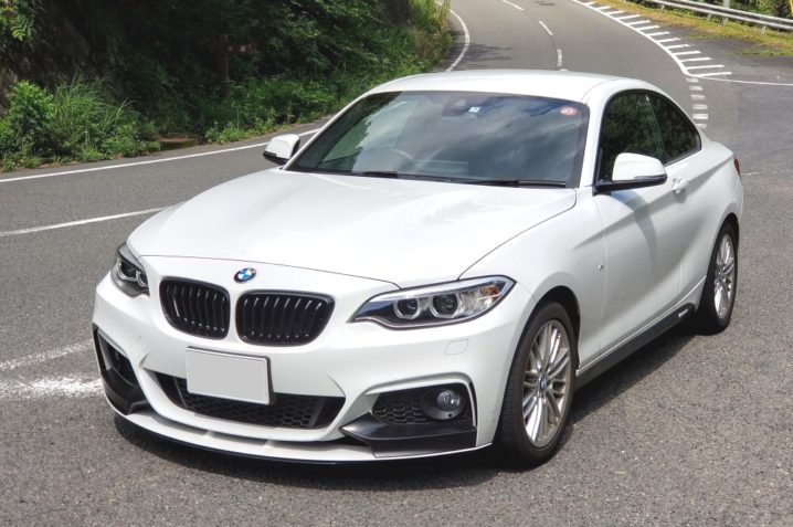 BMW2シリーズクーペのエクステリア