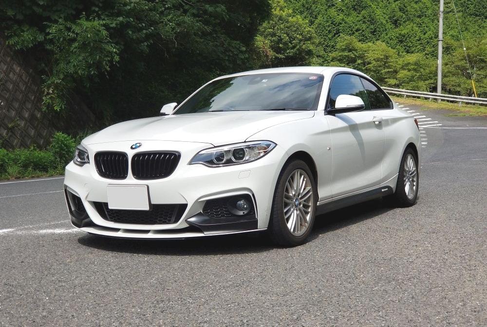 BMW2シリーズクーペの外観