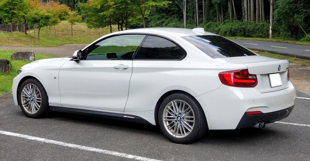 BMW2シリーズの外観