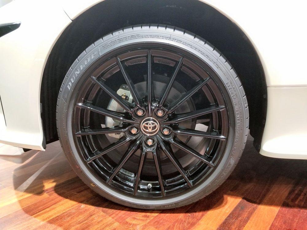 GRヤリス RSのタイヤ