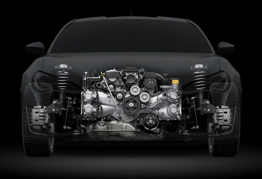 86のエンジン