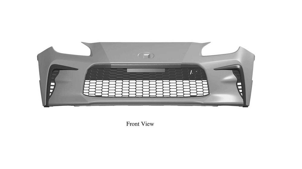 新型86ことGR86のデザイン