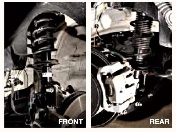 GR86、BRZのダンパー、サスペンション